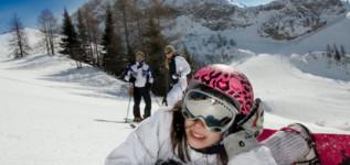 Parco giochi sulla neve: la soluzione ideale per far divertire i bambini in montagna