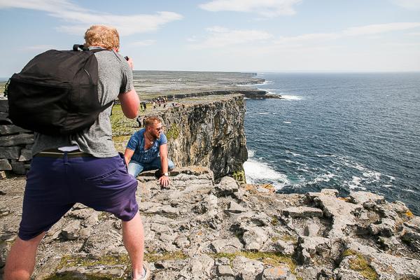 Viaggio in Irlanda - scogliere