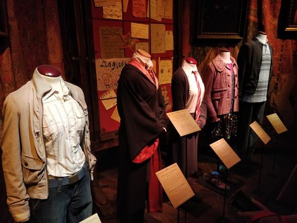 Harry Potter a Milano vestiti